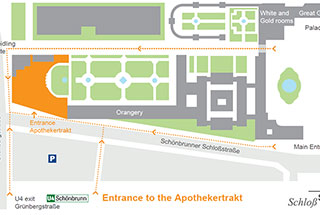 Map of the Conference Centre